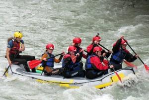 rafting lech tirol
