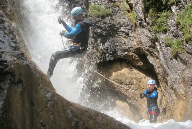 Canyoning Einsteiger