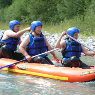 Rafting-Programm – Lechtal Tirol – Nature Adventure