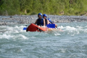 Canadier Rafting Lech