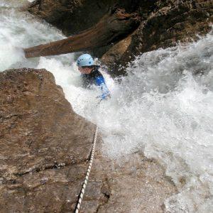 Canyoning Ropeslide