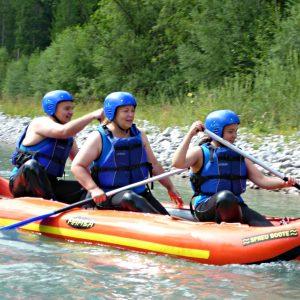 Rafting Lechtal