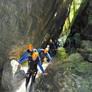 Canyoninggruppe Kobelache