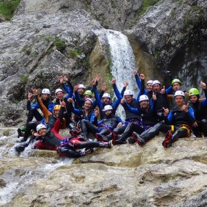 Jungesellenabschied Canyoning