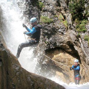 Canyoning Sicherung