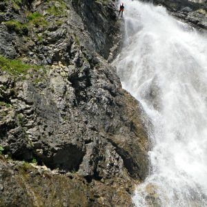 Wasserfall Rossgumpen Canyoning