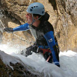 Canyoning water