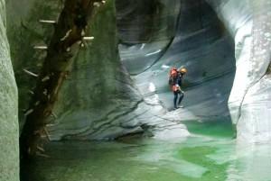 canyoning advanced