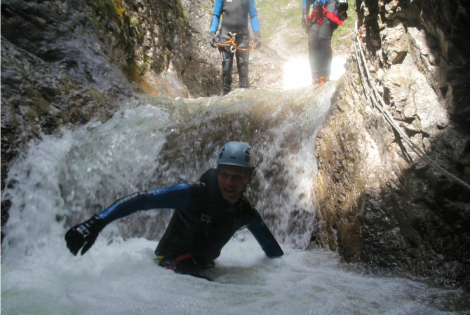 canyoning easy