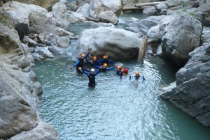 canyoning advanced