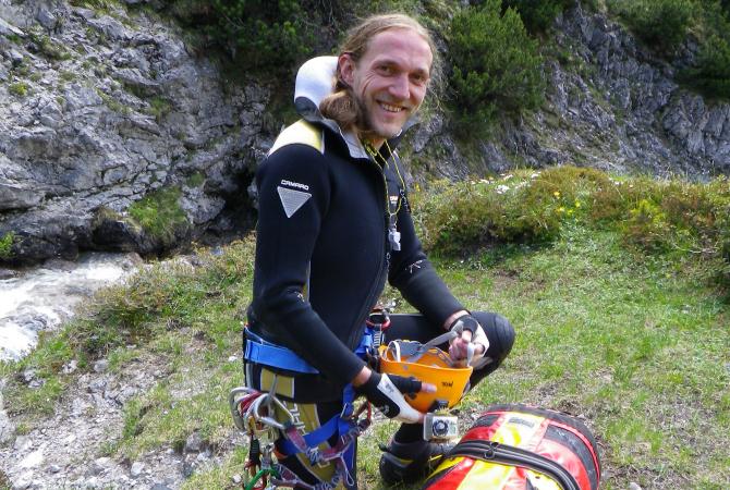 Joe Klotz Canyoning Nature Adventure