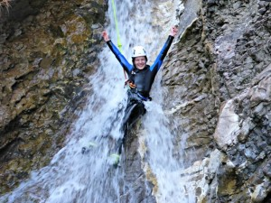 Canyoning Spaß