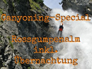 Canyoning Rossgumpen