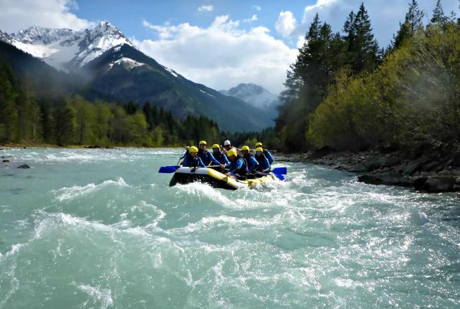 rafting lech Lechtal Tirol